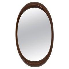Scandinavian Modern Oval Wall Mirror