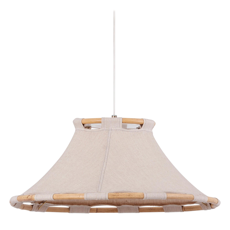Scandinavian Modern Pendant Lamp by Anna Ahrens for Ateljé Lyktan, Sweden, 1970