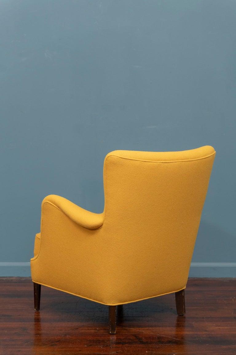 Scandinavian Modern Petite Lounge Chair 1