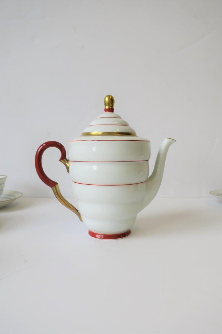 Scandinavian Modern Porcelain Espresso Coffee Demitasse