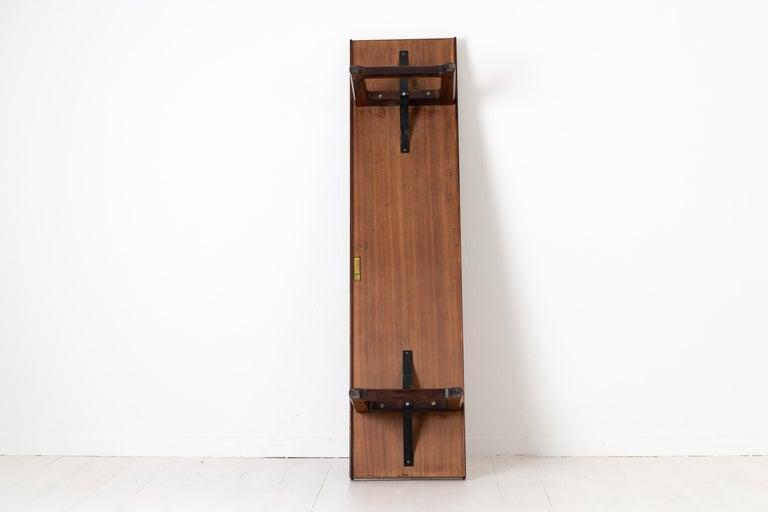 Scandinavian Modern Rosewood Bench by Torbjørn Afdal for Bruksbo For Sale 4