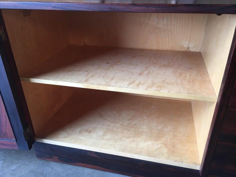 Scandinavian Modern Rosewood Credenza For Sale 12