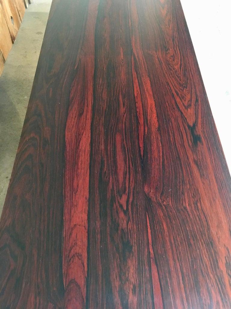 Scandinavian Modern Rosewood Credenza For Sale 4