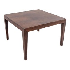 Scandinavian Modern Rosewood Side / Coffee Table, circa 1960s