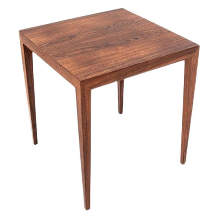 Scandinavian Modern Rosewood Side / Coffee Table, circa 1960s