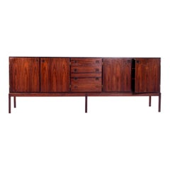 Scandinavian Modern Rosewood Sideboard by Johannes Andersen