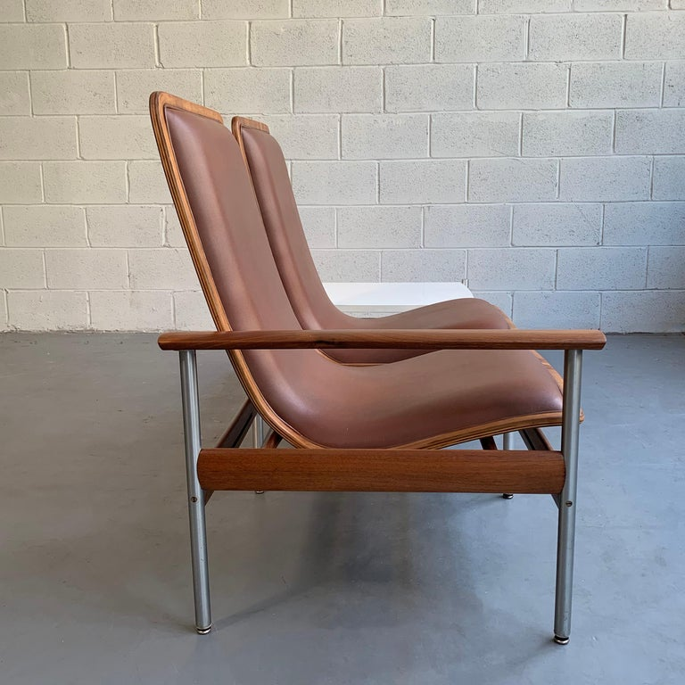 20th Century Scandinavian Modern Seating and Table Ensemble by Sven Ivar Dysthe For Sale