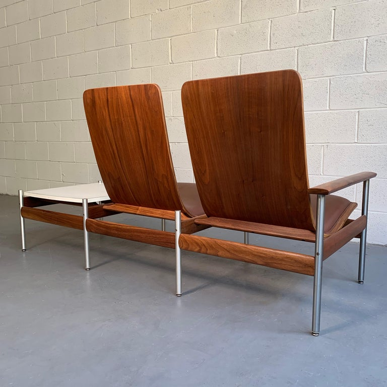 Scandinavian Modern Seating and Table Ensemble by Sven Ivar Dysthe For Sale 1