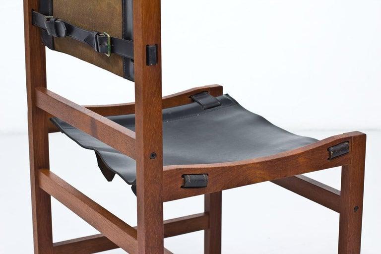 Scandinavian Modern, Set of 6 Danish Chairs in Teak and ...
