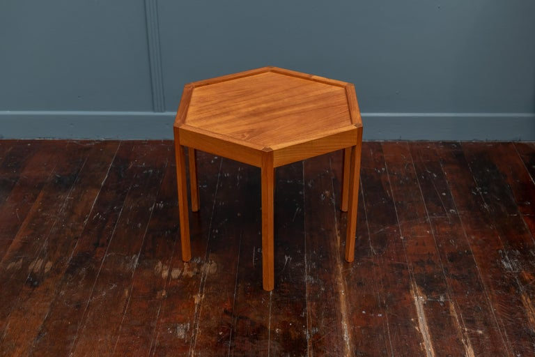 Danish Scandinavian Modern Side Table by Hans Andersen For Sale