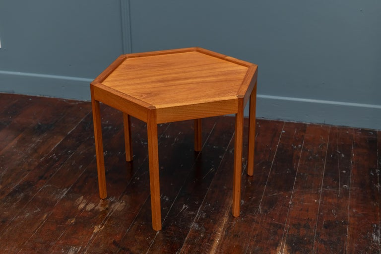 Scandinavian Modern Side Table by Hans Andersen In Good Condition For Sale In San Francisco, CA