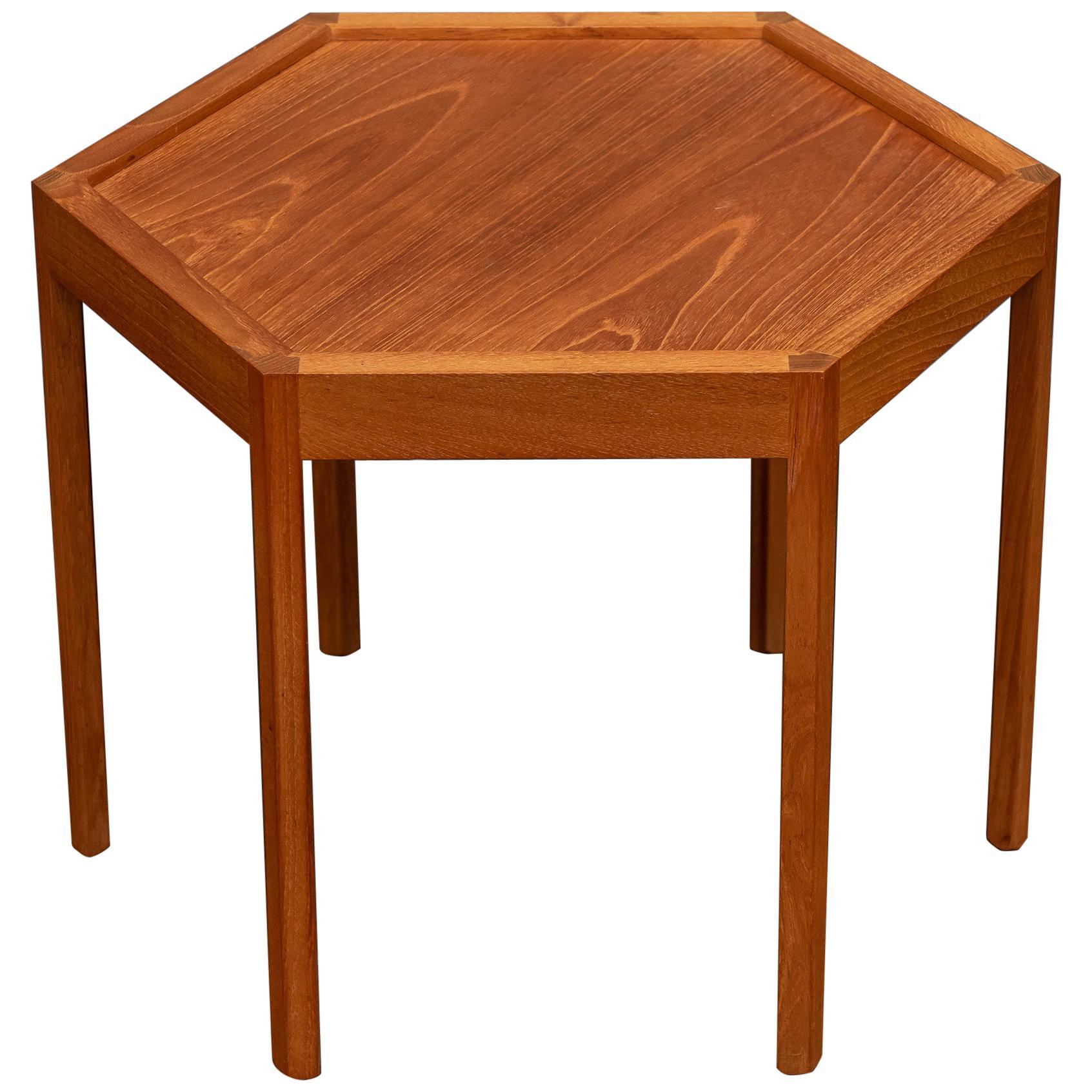 Scandinavian Modern Side Table by Hans Andersen