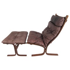 Scandinavian Modern Siesta Lounge Chair by Ingmar Relling for Westnofa