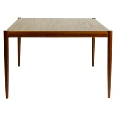 Scandinavian Modern Square Teak Coffee Table Denmark