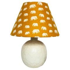 """Scandinavian Modern Table Lamp """"Capri"""" for Rörstrand by Gertrud Lönegren, 1950s"""