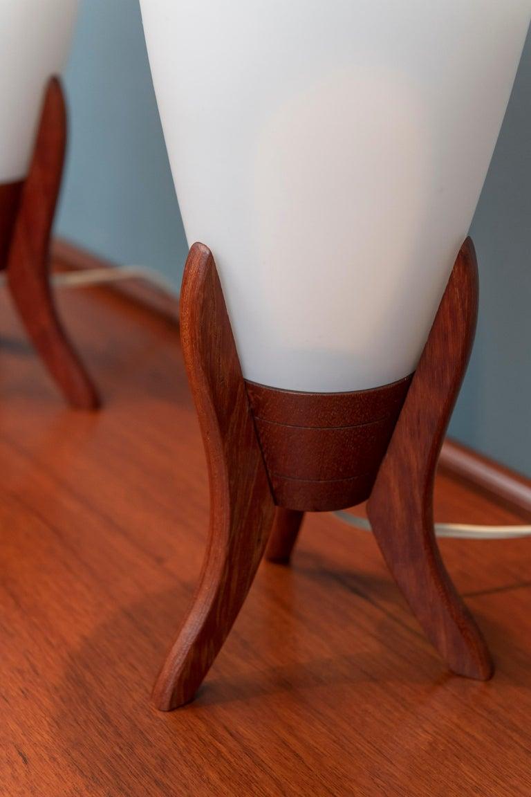 Swedish Scandinavian Modern Table Lamps For Sale
