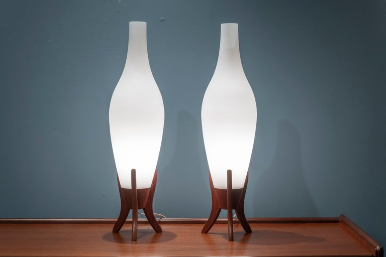 Mid-20th Century Scandinavian Modern Table Lamps For Sale