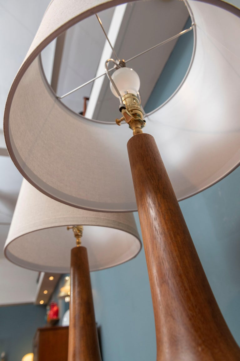 Scandinavian Modern Table Lamps In Good Condition In San Francisco, CA