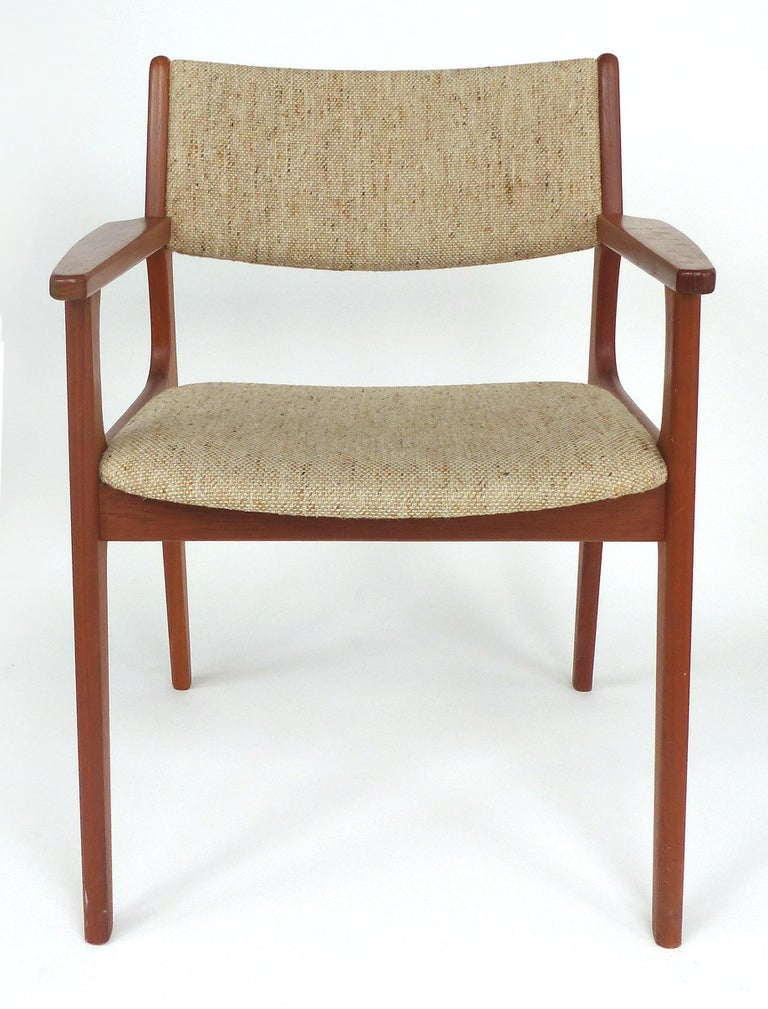 Scandinavian Modern Teak Armchairs For Sale at 1stdibs