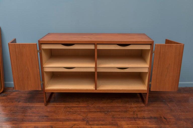Scandinavian Modern Teak Cabinet by Borge Mogensen In Good Condition For Sale In San Francisco, CA
