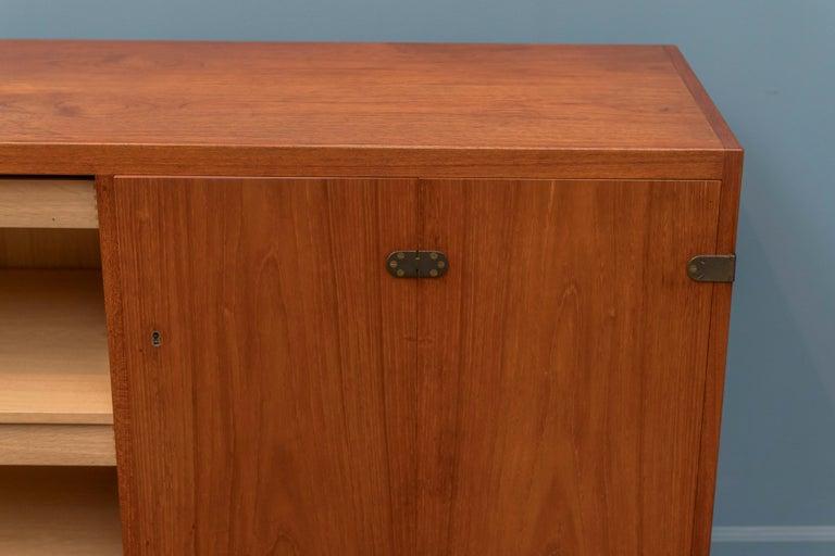 Scandinavian Modern Teak Cabinet by Borge Mogensen For Sale 1