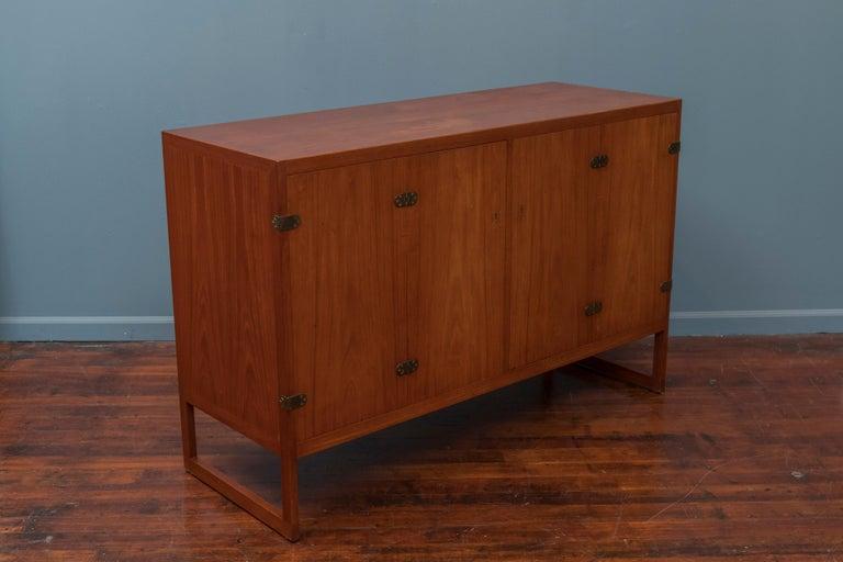 Scandinavian Modern Teak Cabinet by Borge Mogensen For Sale 4