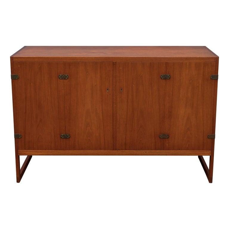 Scandinavian Modern Teak Cabinet by Borge Mogensen For Sale