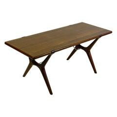 Scandinavian Modern Teak Coffee Table by Karl Erik Ekselius for J.O.C. Vetlanda