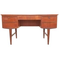 Scandinavian Modern Teak Desk, 1960s