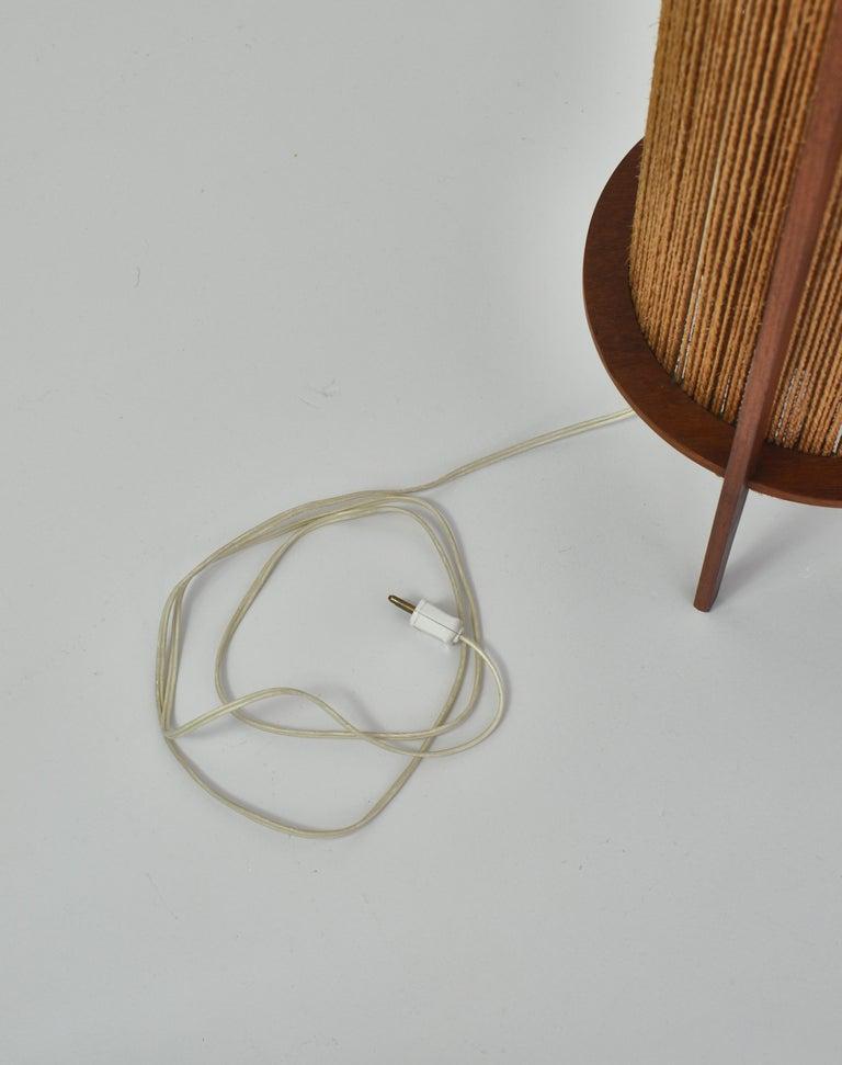 Scandinavian Modern Teak Floor Lamp by Ib Fabiansen for Fog & Mørup, 1960s For Sale 3