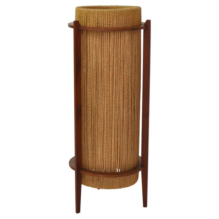 Scandinavian Modern Teak Floor Lamp by Ib Fabiansen for Fog & Mørup, 1960s For Sale