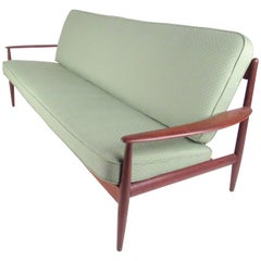 Scandinavian Modern Teak Sofa after Grete Jalk