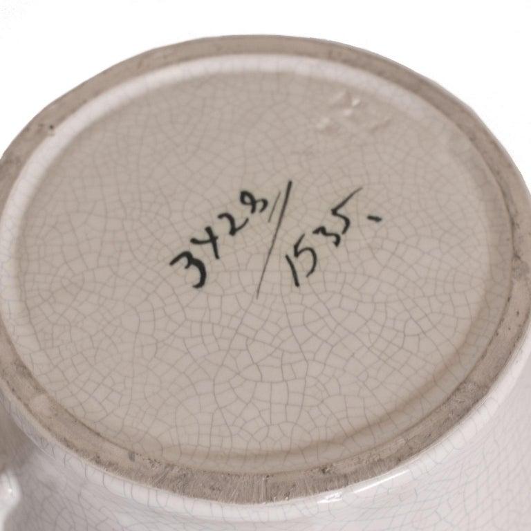European Scandinavian Modern Urn in by Eva Jancke Björk, Bobergs Faiance Pottery, Sweden For Sale