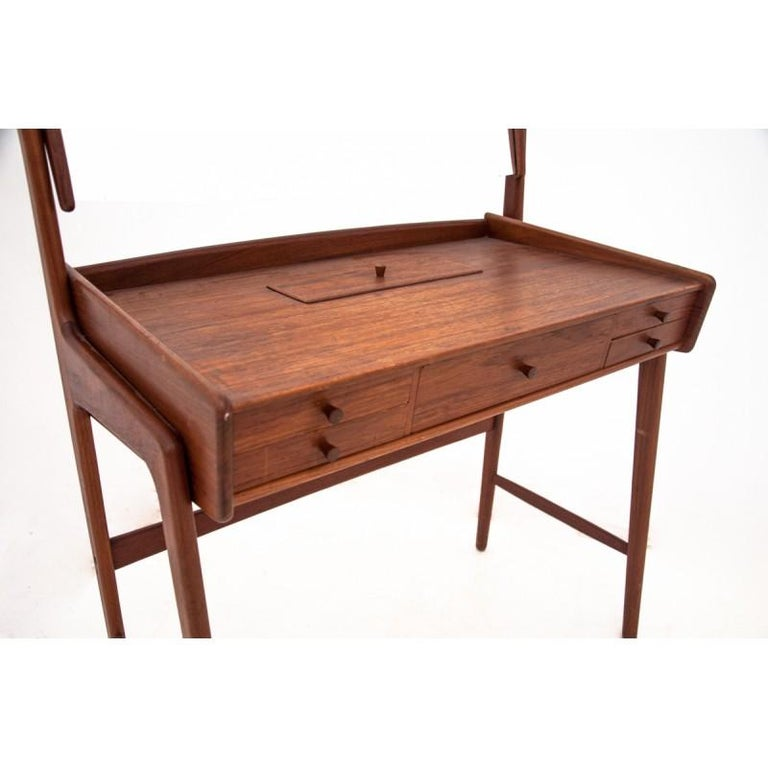 Danish Scandinavian Modern Vanity / Dressing Table, 1960s For Sale