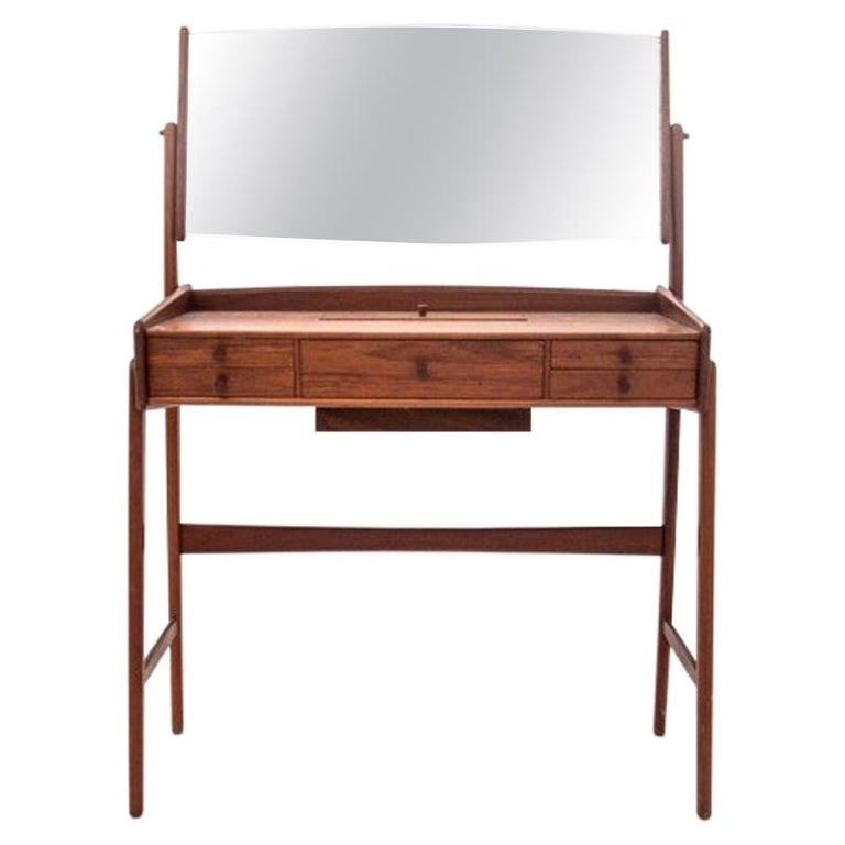 Scandinavian Modern Vanity / Dressing Table, 1960s For Sale