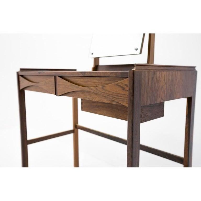 Danish Scandinavian Modern Vanity / Dressing Table by Arne Vodder, 1960s For Sale