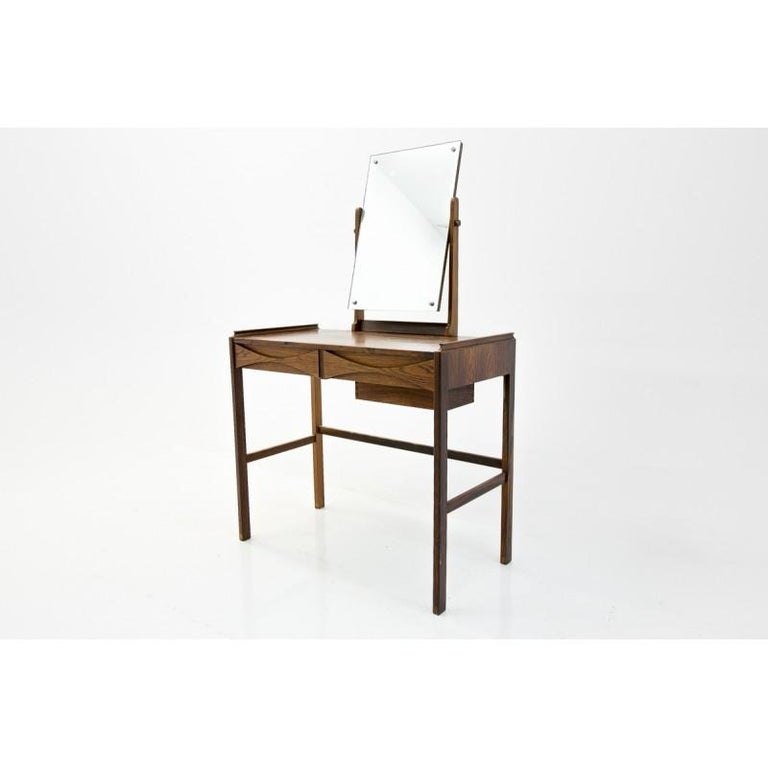 Scandinavian Modern Vanity / Dressing Table by Arne Vodder, 1960s In Good Condition For Sale In Chorzów, PL
