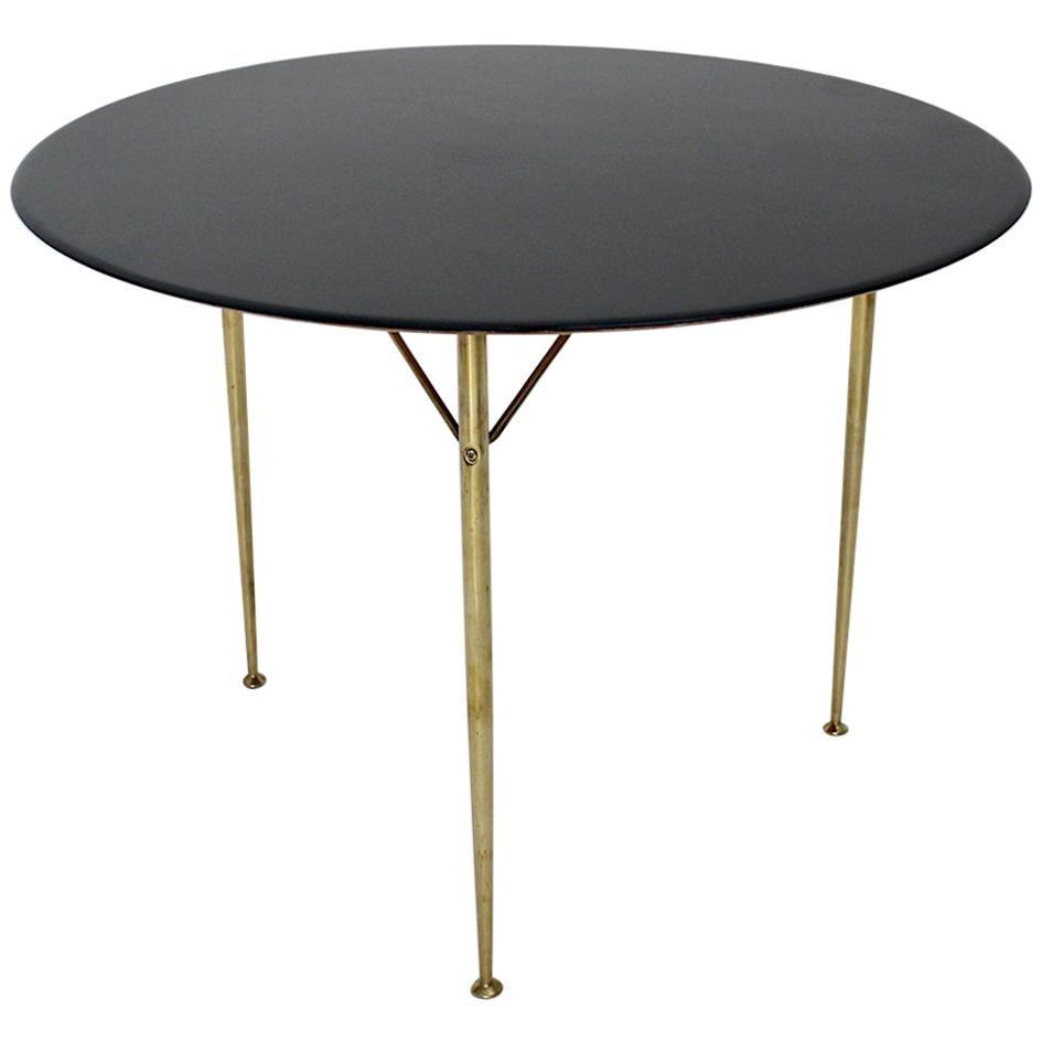 Scandinavian Modern Vintage Dining Table Arne Jacobsen for Fritz Hansen 1950s