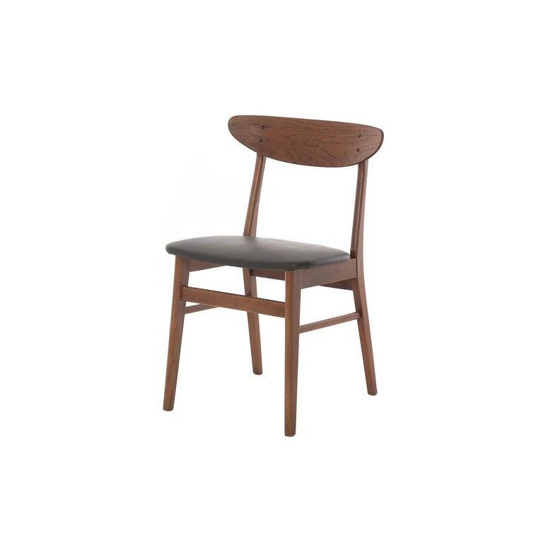 Danish Scandinavian Modern Vintage Teak Dining Chairs For Sale