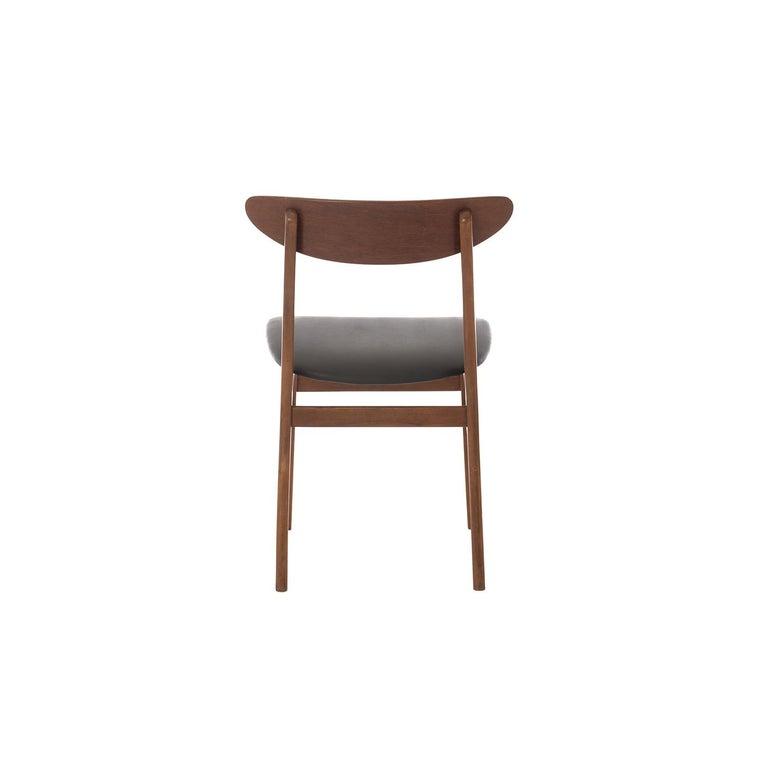 20th Century Scandinavian Modern Vintage Teak Dining Chairs For Sale