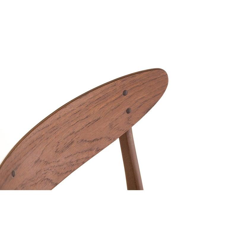 Scandinavian Modern Vintage Teak Dining Chairs For Sale 1