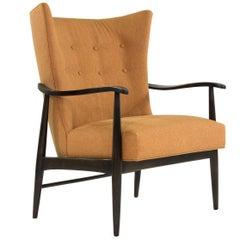 Scandinavian Modern Wingback Lounge