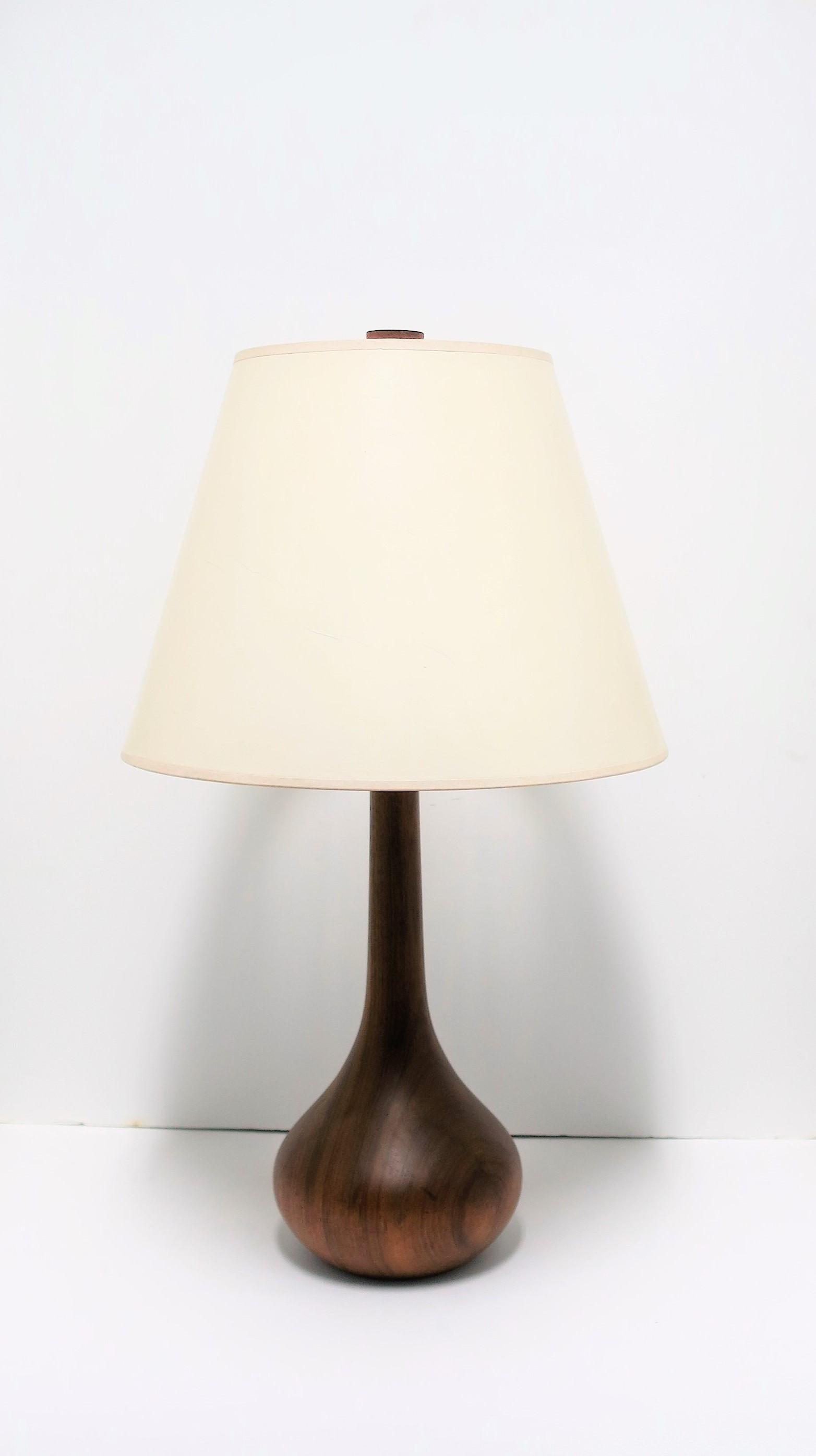 Image of: Scandinavian Modern Wood Table Or Desk Lamp At 1stdibs
