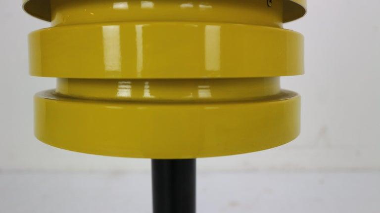 Scandinavian Modern Yellow Floor Lamp by Hans Agne Jakobsson for Markaryd, 1960 For Sale 4