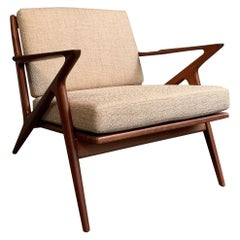 Scandinavian Modern Z Lounge Chair Designed by Poul Jensen