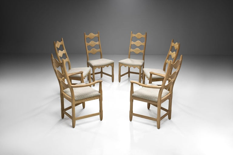 Scandinavian Oak Dining Set, Scandinavia, circa 1950s 4