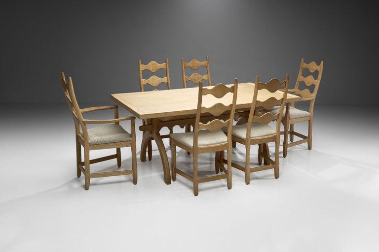 Scandinavian Modern Scandinavian Oak Dining Set, Scandinavia, circa 1950s