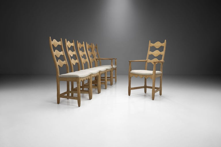 Scandinavian Oak Dining Set, Scandinavia, circa 1950s 2