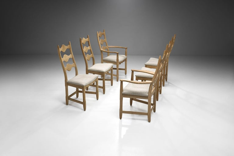 Scandinavian Oak Dining Set, Scandinavia, circa 1950s 3