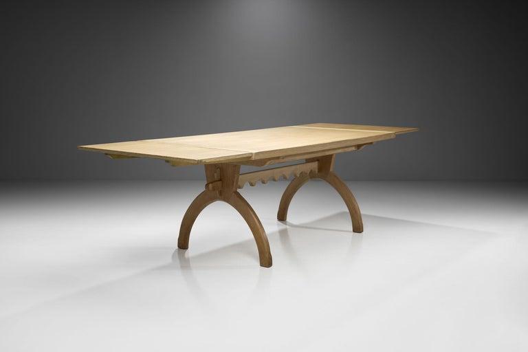 Scandinavian Modern Scandinavian Oak Dining Table, Scandinavia, circa 1950s